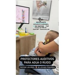 Impresiones para protectores auditivos anatomicos para niños
