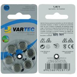 Baterias desechables para auxiliares auditivos implantables